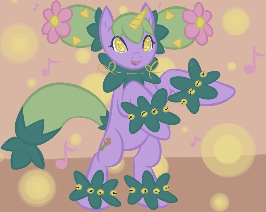 PonyMon Maractus by Kiki-Bunni