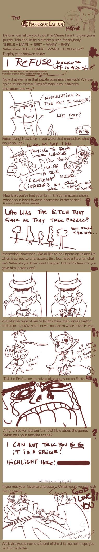 Professor Layton and the Twit by Navedium