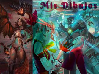 Mis Dibujos Perfil by Aelin12