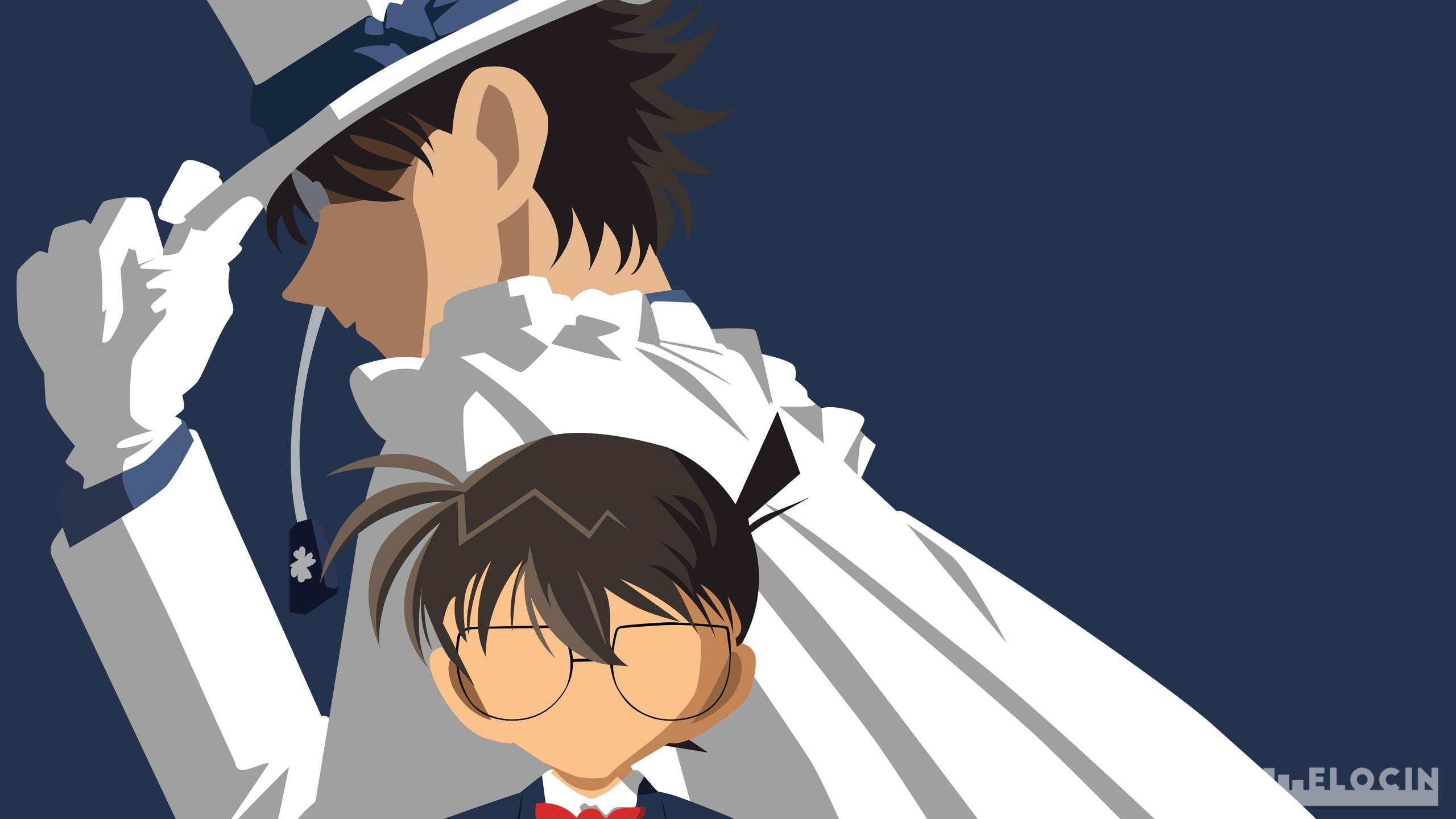 Kudo Shinichi Kaito Kuroba By Daylightsaver Deviantart Fondos De