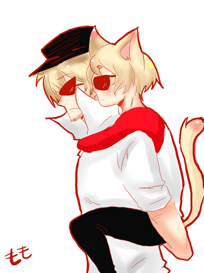 Kitty Dave and Bro by Gotta-love-animes
