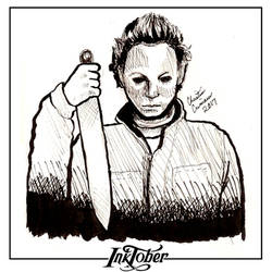 Inktober Day 31 - Michael Myers