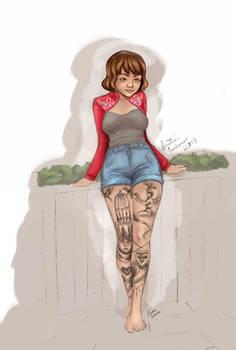 Tattoo Girl Version 1