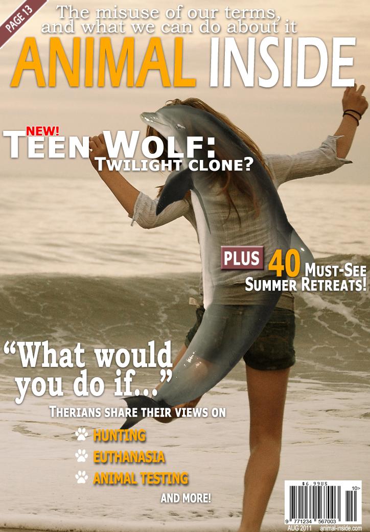Fake Therianthropy Magazine by PerianArdocyl