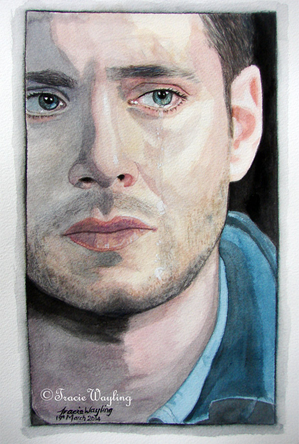 Dean Winchester/Jensen Ackles - Tears by traciewayling