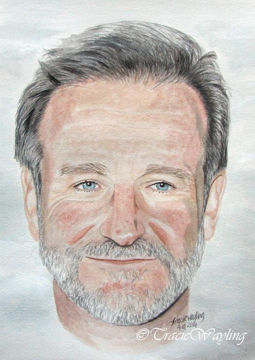 Robin Williams by traciewayling