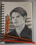 Sketchbook - Daniel Gillies/Elijah Mikaelson