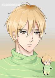 Fan art KAZUMA - GAKUEN BABYSITTERS  (GROW UP)