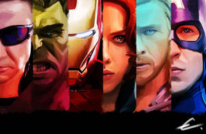 The mighty Avengers. by emmix0392