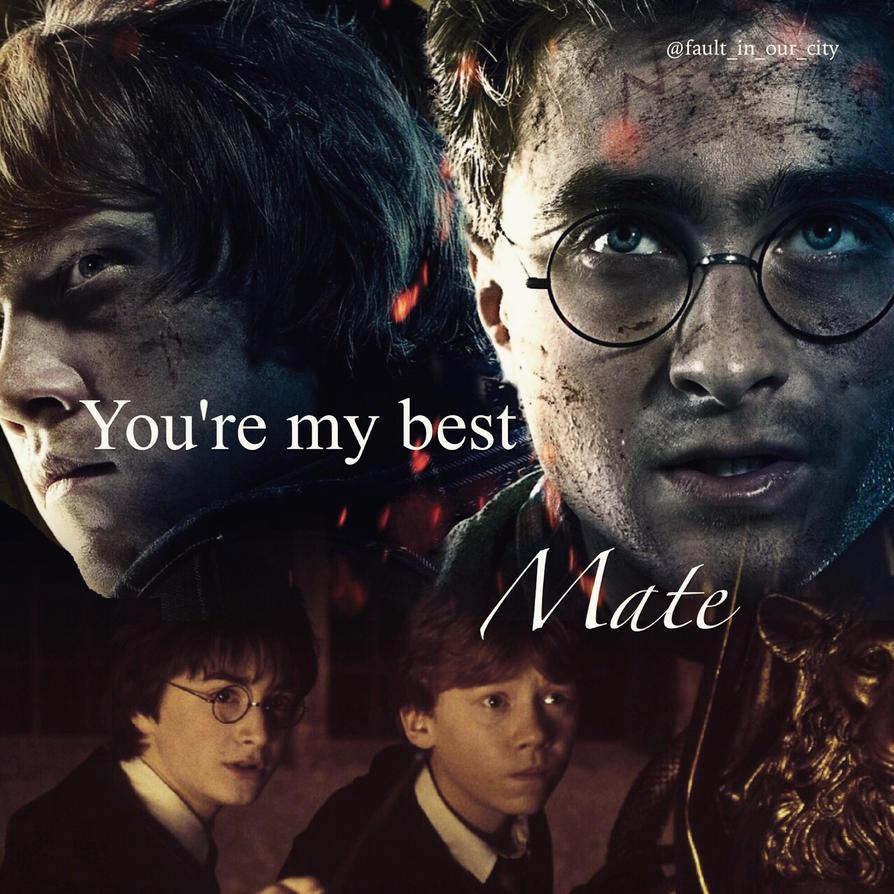 You're my best mate by Xinxian2000
