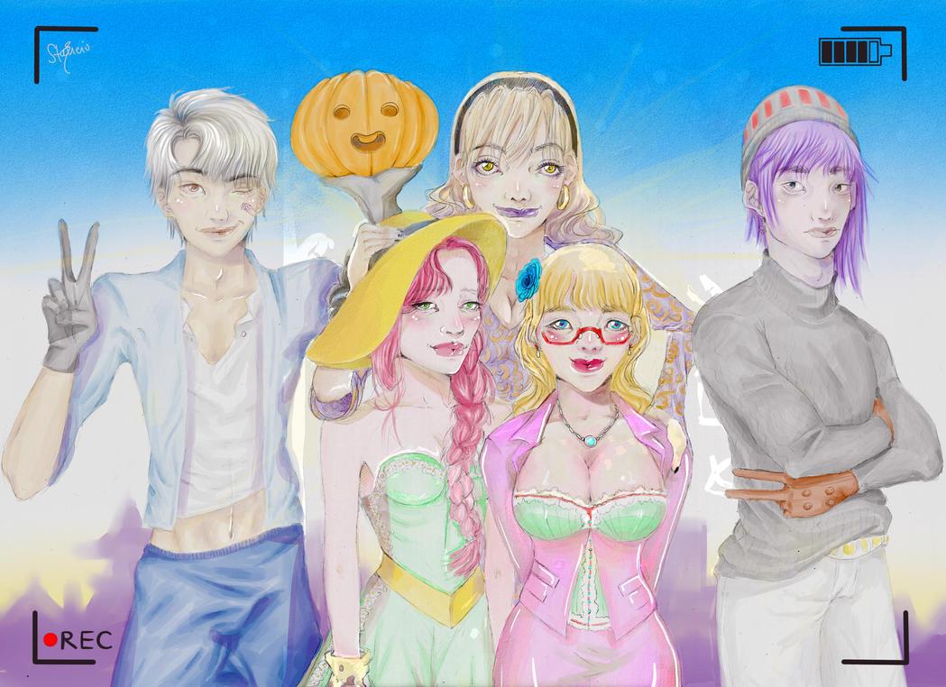 Pumpkin Online Fanart Contest by aregg