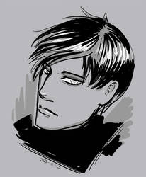 Quick Face Sketch by scazrelet