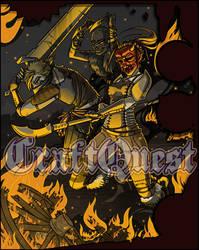CraftQuest - Bandit Raid