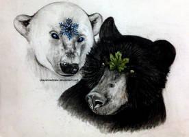 bears of nature. [2015] by CheyenneDrake