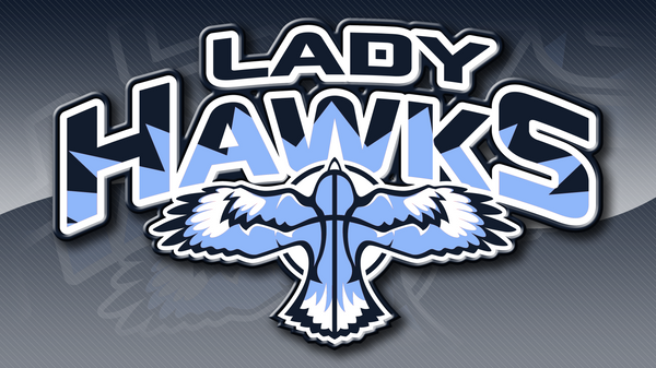 Lady Hawks Basketball by MarkRantal