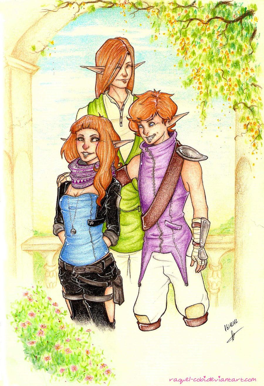 Meet the redheads by raquel-cobi