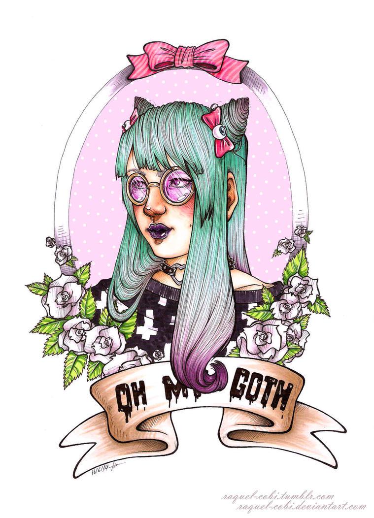 Oh my Goth! by raquel-cobi
