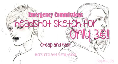 headshot commissions by raquel-cobi