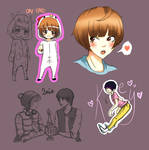 Shinee doodles