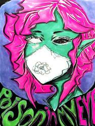 Poison in My Eye, Flowers in My Hair by Creativelea
