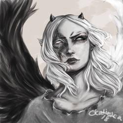 Angel Asaya by Creativelea