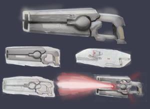 Beam Rifle Kinnetik
