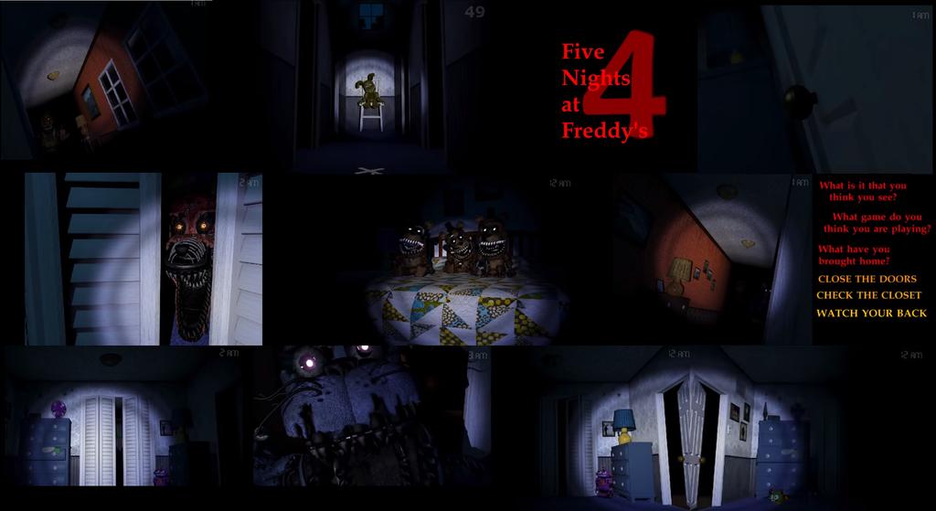 Image Gallery F-naf 4 Movie