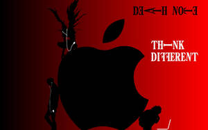 Death Note Apple Wallpaper by roxasissomebody