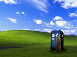 Doctor Who Windows Wallpaper by roxasissomebody