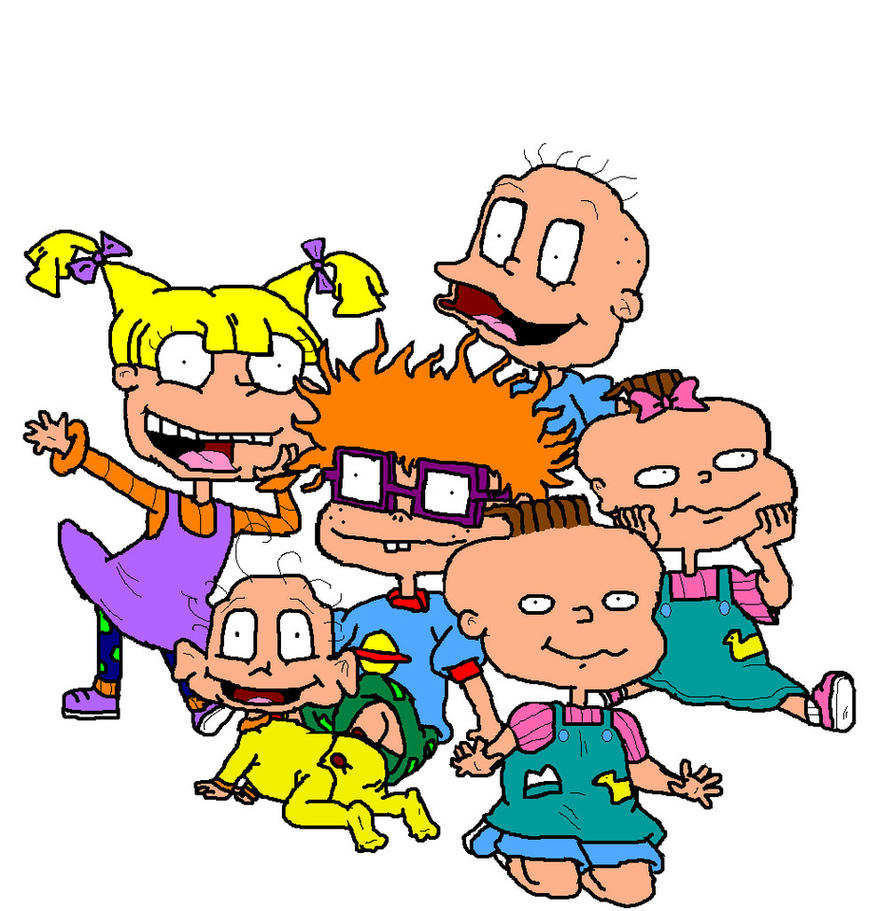 Rugrats Characters by ILikeTrains21 on DeviantArt