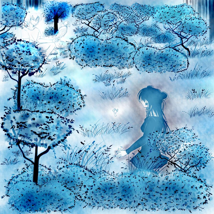 .:: The Blue Garden ::. by Kinexuru