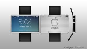 Apple iWatch Concept art design