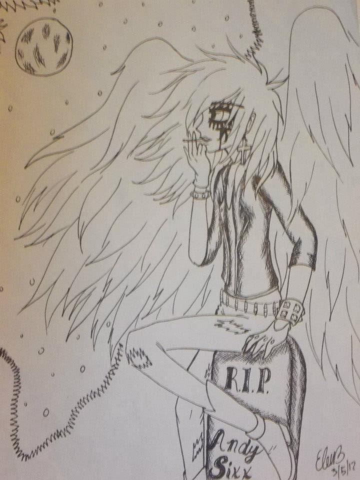 RIP Andy SIX by Kona-chan19