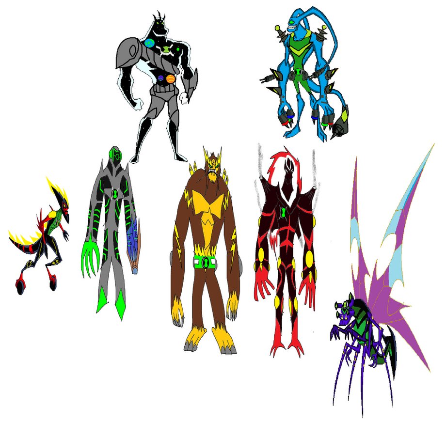 Ben 10000 Ultimate Alien: Ben's New Ultimate Aliens By MrRyder On DeviantArt
