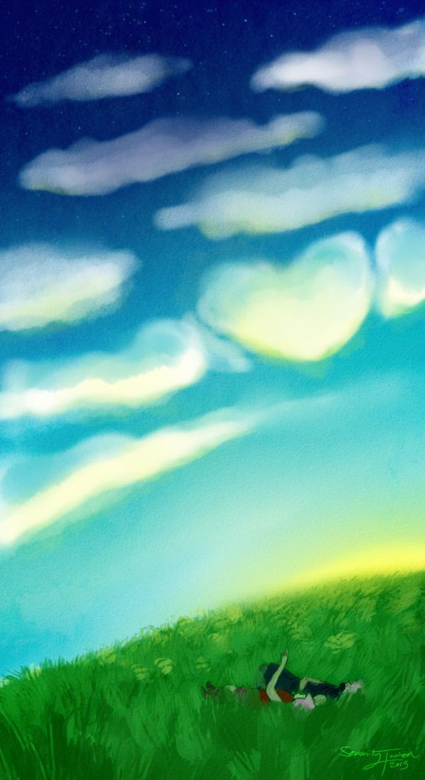 KakaSaku V-Day Week: Cloud Nine by serenitytouched