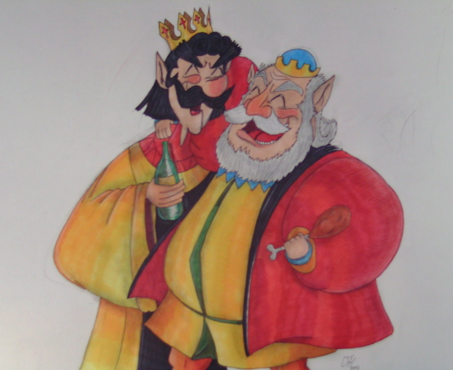 King Stefan And King Hubert (Disney/Zelda Part 3) By