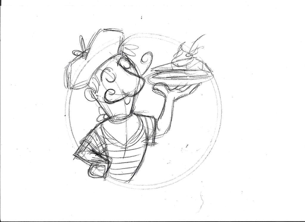 Crepe Logo 2. Sketch by pineapplepidecd92