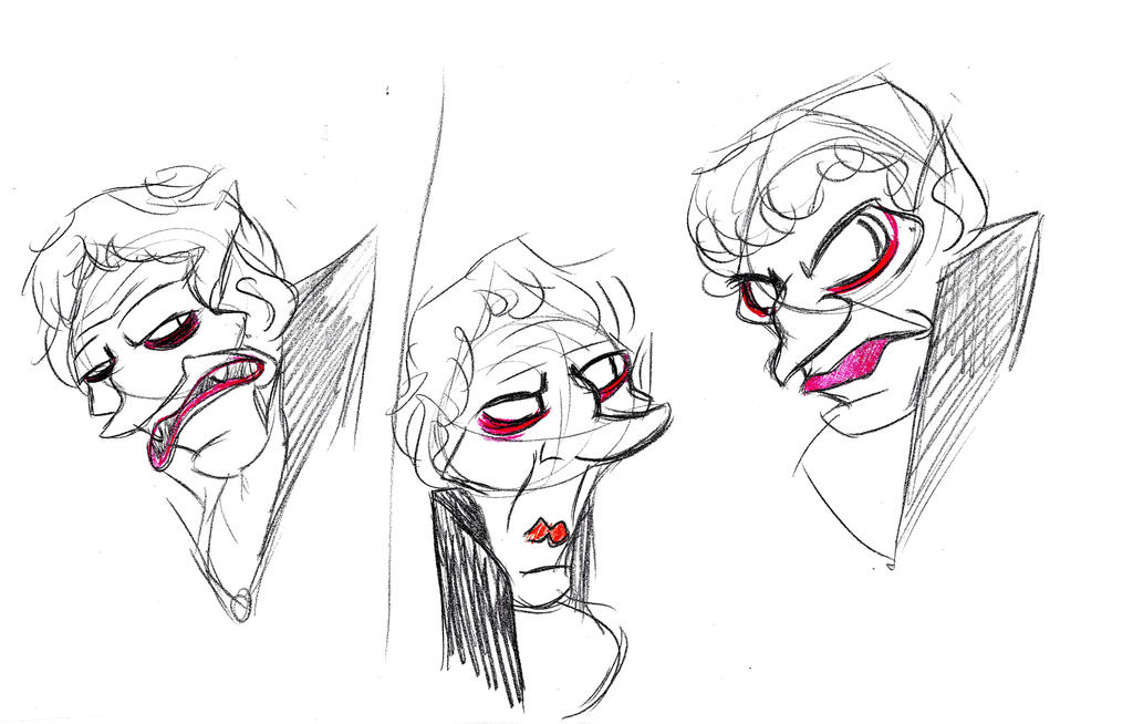 Old Vampire Sketch by pineapplepidecd92