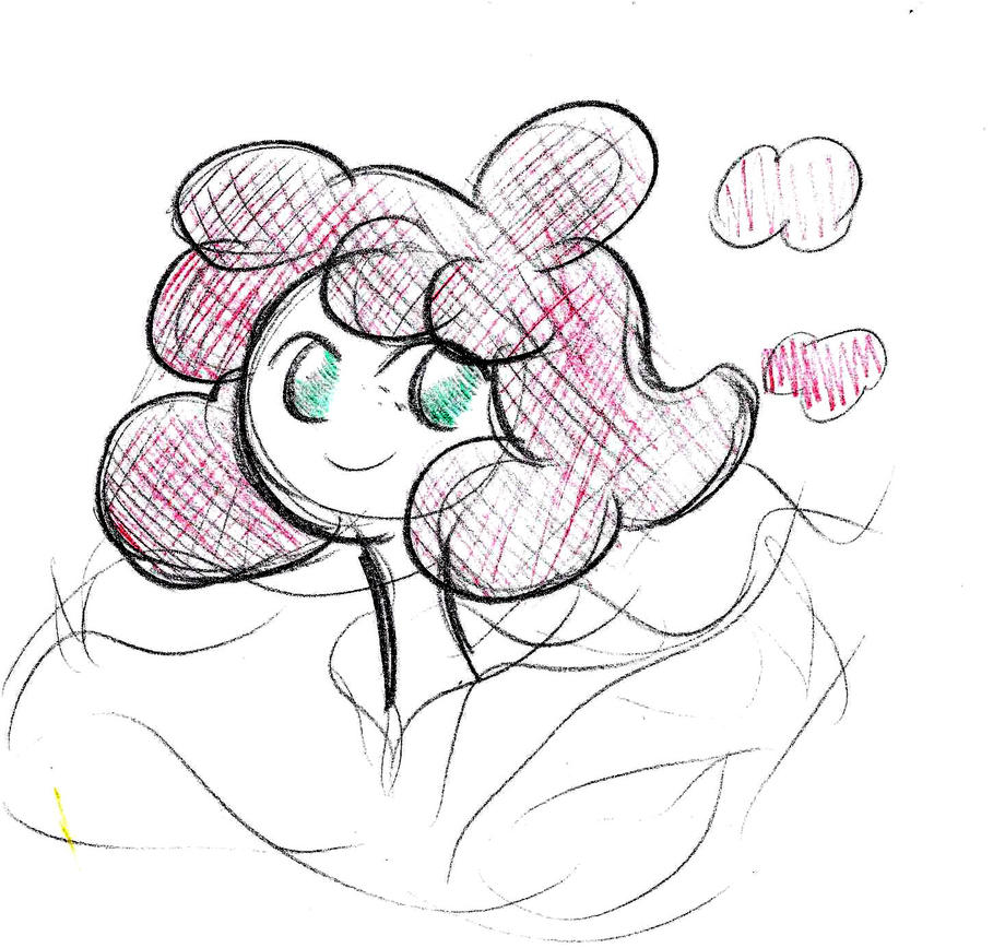 Cloud Woman Sketch 3 by pineapplepidecd92