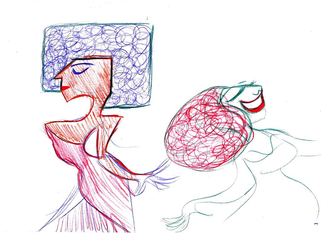 Dancer Sketch by pineapplepidecd92