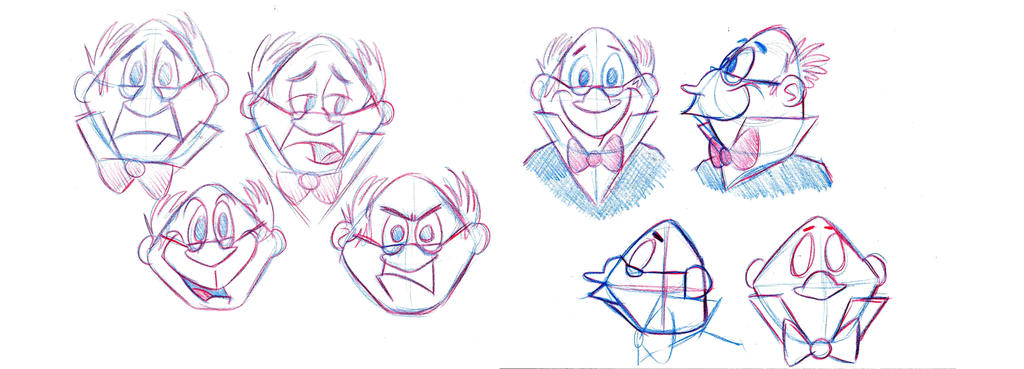 Fat Historian Early Facial Expressions Sketch by pineapplepidecd92