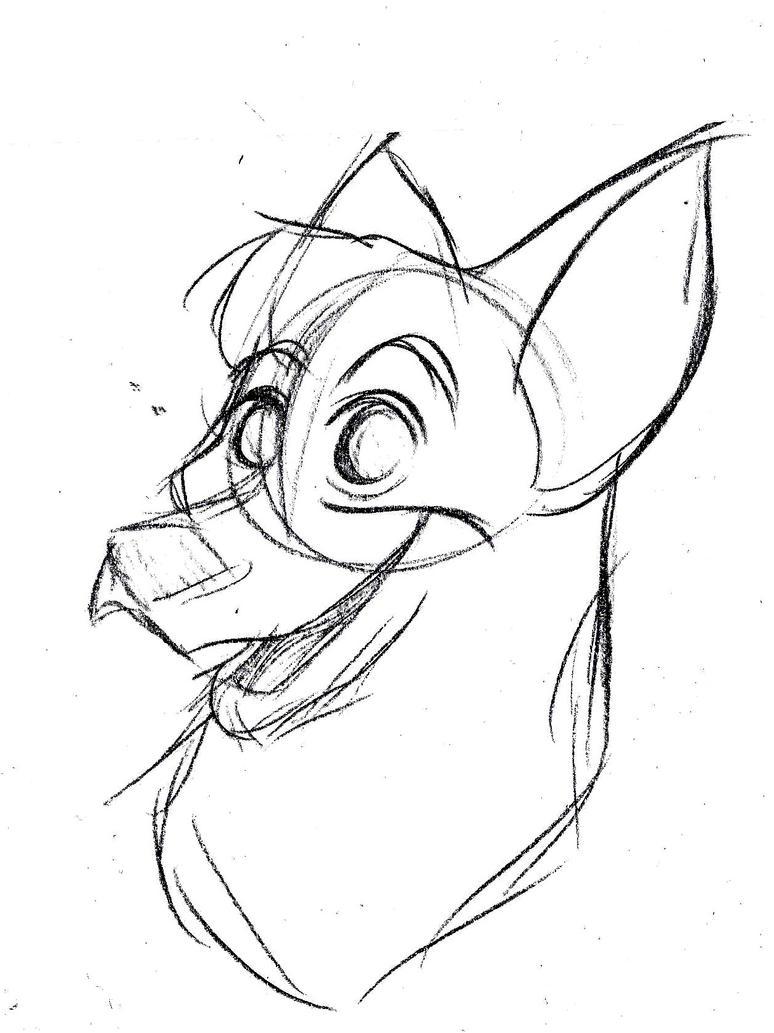 Dog Sketch by pineapplepidecd92