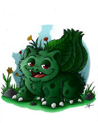 All Pokemon of the first Generation - Bulbasaur by pineapplepidecd92