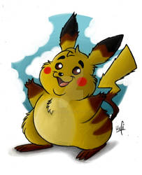 All Pokemon of the first Generation - Pikachu
