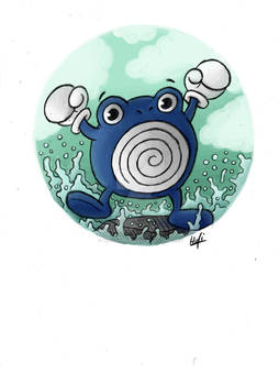 All Pokemon of the first Generation - Poliwhirl