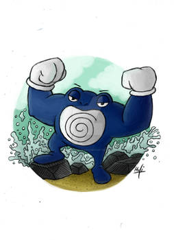 All Pokemon from GenOne: Poliwrath
