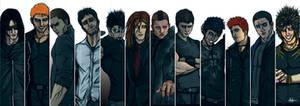 The Black Dagger Brotherhood