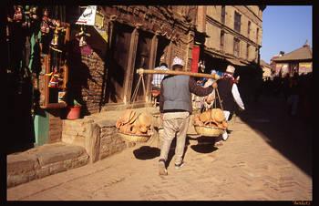 kathmandu Street by Ninheve