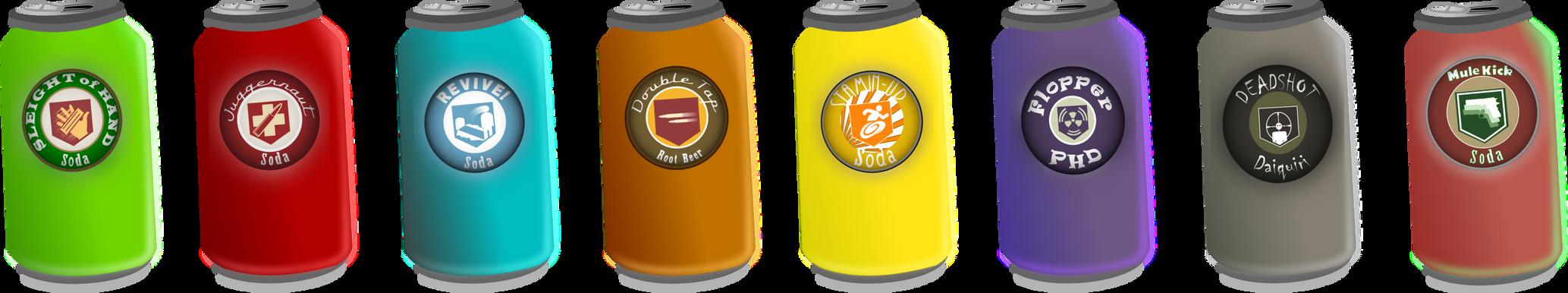 Canned Perk-a-C... Juggernog Soda Label