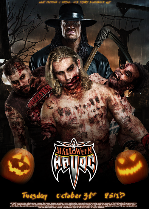 SmackDown Live Halloween Havoc poster by ArselGFX on DeviantArt